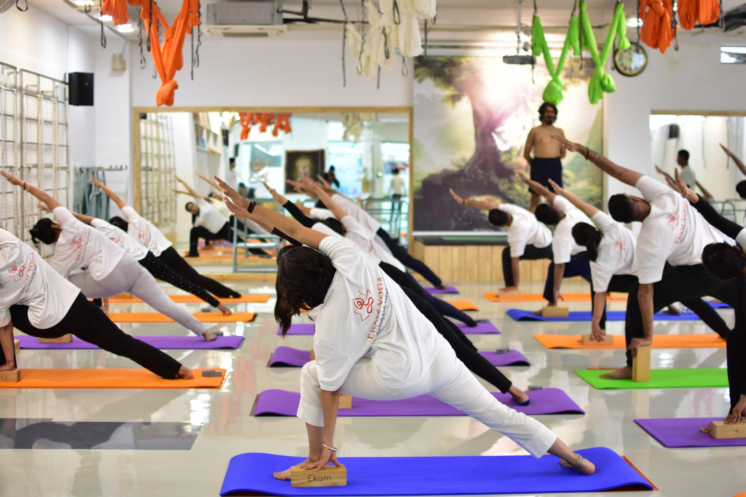 Therapeutic Yoga at Yoga Studio - Ekam Yoga